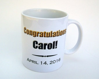 Congratulations Personalized  Mug