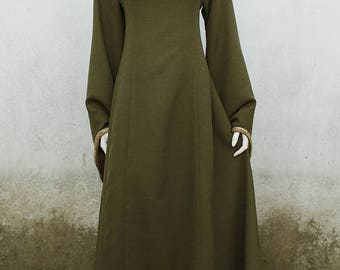 Elven Green Dress
