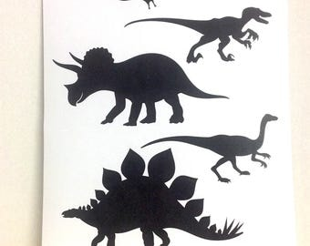 Dinosaur Print , Decor , house , home , print , laminated , Three horn , Creatures , Kids