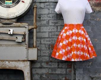 The Skater Skirt - Harlequin