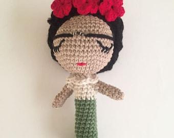FridaBaby Rattle, Frida Rattle Pattern Only