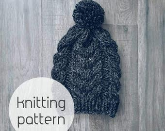 Knitting Pattern : The Winchell Beanie