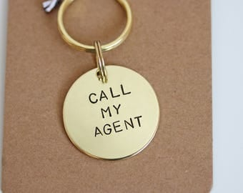 Dog ID Tag - Call My Agent