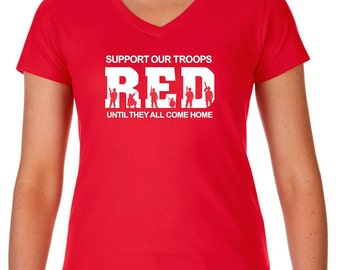 Red Friday Remember Everyone Deployed Until They All Come Home Army Navy Air Force Marines Military