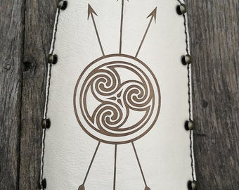 Shield and arrows