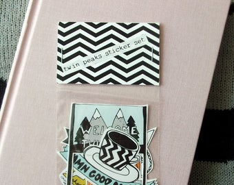 Twin Peaks 5 Sticker Set