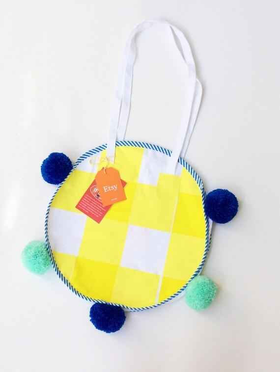 canvas tote bag, screen printed tote bag, summer beach bag, shoulder bag