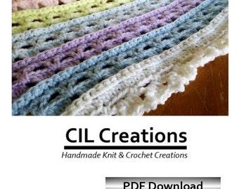 Baby's First Blankie Crochet Pattern Download