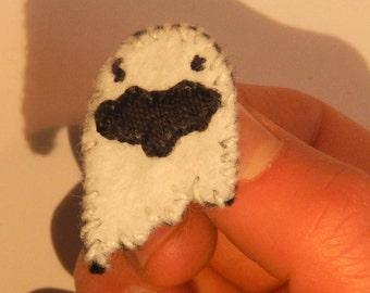 Ghost pin brooch in spirits felt cute spirit