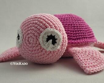 Turtle amigurumi Ydekado handmade gift idea