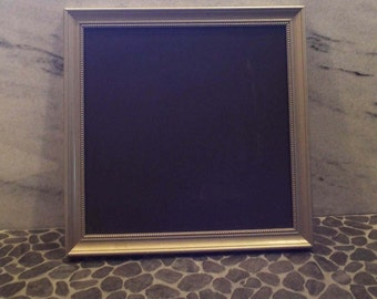 Classic vintage schoolhouse magnetic chalkboard