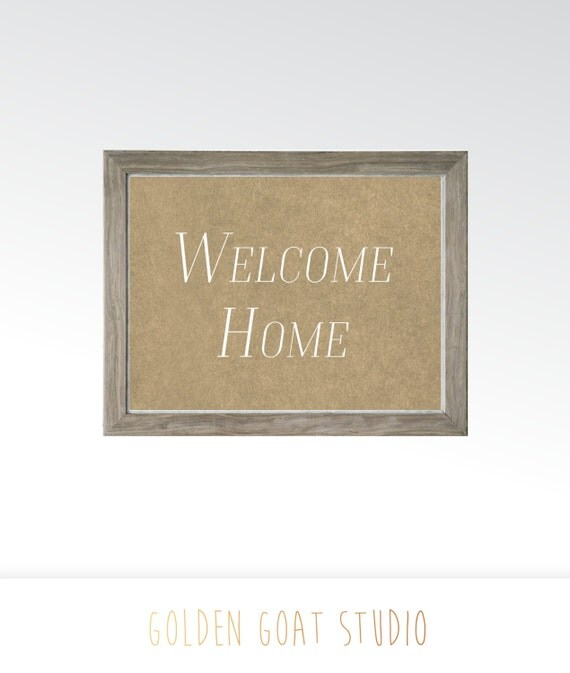 picture relating to Printable Welcome Home Signs identified as Welcome Again Signs or symptoms Printable Each day Determination Offers