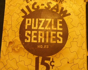 Every Week Jig-Saw Puzzle Series No. 15 and 23