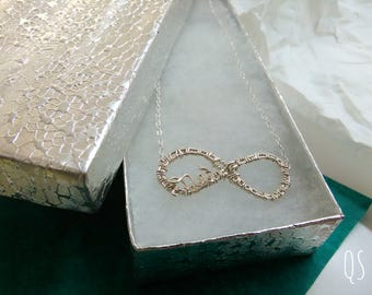 Customizable Infinity necklace