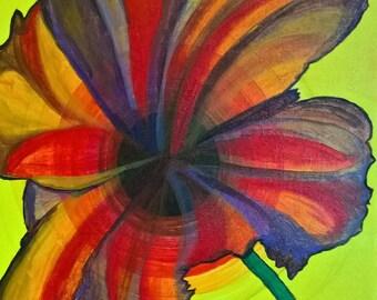 Table infinitely flower