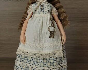 Country Heart - Handmade dress set for Ruruko doll