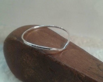 Chevron  V stack ring 14K rose gold filled ,yellow gold filled or sterling silver  knuckle, thumb single ring