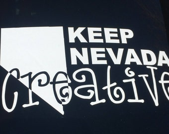 Keep Your State Creative Decal Sticker