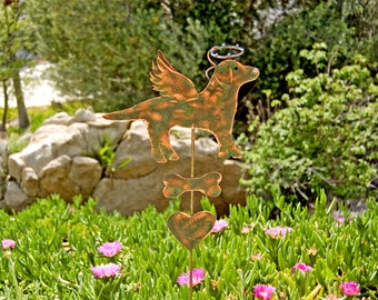 Garden Copper Art Metal Pet Memorial Animal by GardenCopperArt