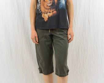 Vintage Animal T Shirt, Size Medium, Hipster, Lion, Elephant, Giraffe, Gorilla, Quirky, Hipster