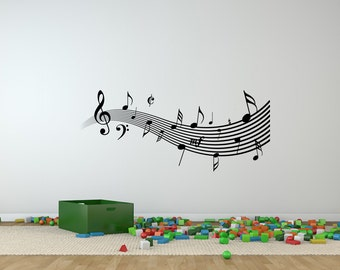 Music Wall Decal | Etsy Part 78