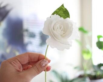 Felt flower Set / gift wrapping / floral / felt floral / anemone / gardenia / flower crown / floral crown / flower craft / diy flower crown