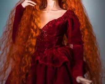Lady Godiva (BJD wig)