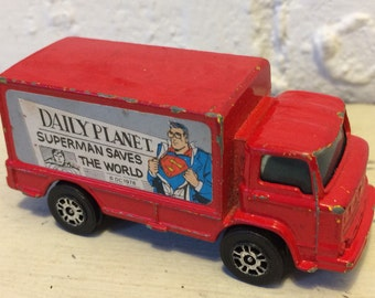 Corgi Juniors Red Superman Truck 1978