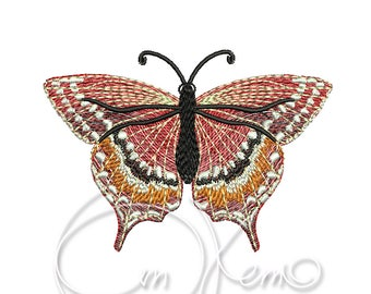 MACHINE EMBROIDERY DESIGN - Butterfly embroidery