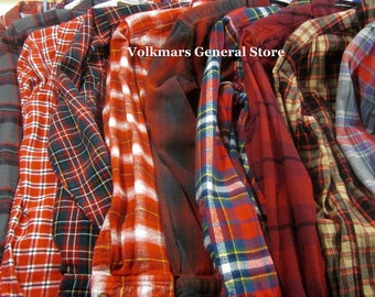 Wedding Bridesmaids Flannel Shirts Vintage Flannels For Getting Ready Soft Button Front Perfect For Bridal Party Makeup and Hair Photos