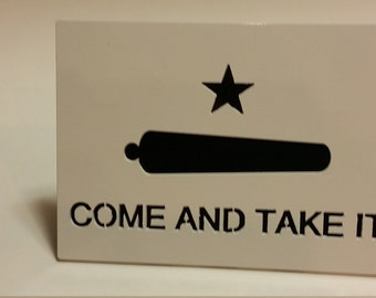 Come and Take It Trailer hitch cover