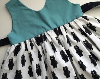 The Juniper Dress in Party Bears, Bear Dress
