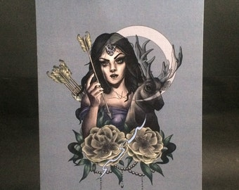 Artemis (Greek Mythology) Print