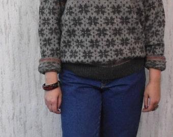 Nordic wool jumper