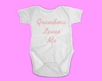 Grandma loves me onesie