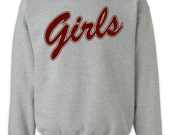Girls Sweatshirt , Friends Tv Show , Friends Girls Sweatshirt , Girls Crewneck Sweatshirt, Friends T Shirt, Jennifer Aniston ,Courteney Cox