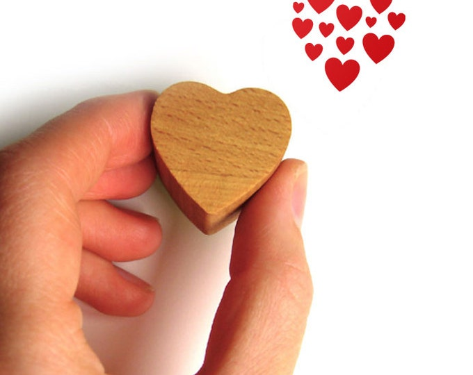 Heart Stamp, Valentine Love Stamp for Wedding Invitations