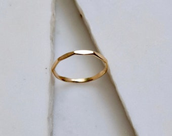14k Gold Ring Simple Wedding Ring Simple Gold Ring Solid 14k Gold Ring 14k Wedding Ring Gold Minimalist Ring