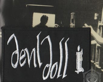 Devil doll embroidered patch Astral Threads