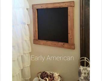 Wood Chalkboard - Decorative Chalkboard, Memo Board, Calender