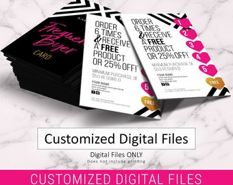 Mary Kay Business Cards Design ONLY No printing DIGITAL