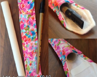 Add a PVC pipe to your tin whistle case, penny whistle cover, Irish Penny Whistle, Fife, Bag, CC, Classical Conversations