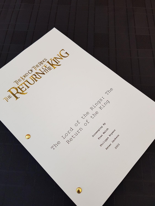 the return of the king pdf script