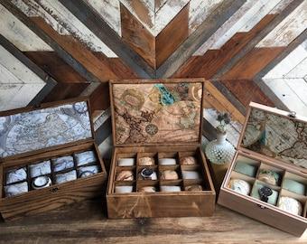 Groom's gift - Handmade watch box - Anniversary gift - American hardwood watch case - watch box