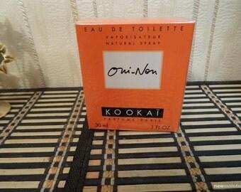 Oui-Non Kookai 30ml. EDT Vintage Rare