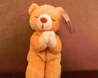 "TY Brown Bear Beanie Baby ""Hope"" (B)"