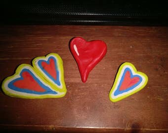 Love is in the air Heart pin
