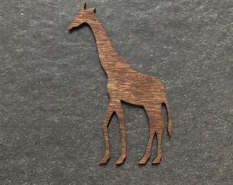 Stained Laser Cut Giraffe