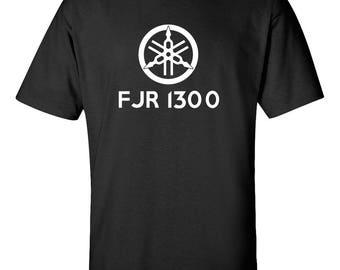 YAMAHA FJR1300 Motorcycle Graphic Tee  100% Screen Printed  ***Free Shipping***