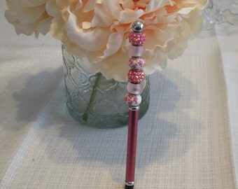 Stylus - ipad - stylus pen – pen - ipad stylus – iphone – iphone stylus – gift for her–tablet stylus -beaded stylus-kindle stylus-tablet pen